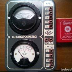 Radios antiguas: ELECTROPOLÍMETRO.POLÍMETRO ESCUELA RADIO MAYMÓ ANTIGUO.. Lote 196354577