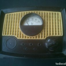 Radios antiguas: ELEVADOR REDUCTOR SAIZ PARA TELEVISION BAQUELITA. Lote 199800085