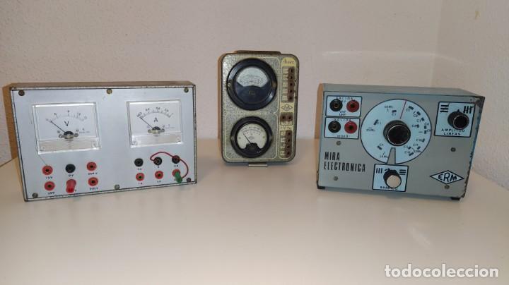 LOTE DE APARATOS DE COMPROBACION DEL CURSO DE RADIO DE MAYMO. (Radios - Aparatos de Reparación y Comprobación de Radios)