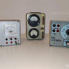 Radios antiguas: LOTE DE APARATOS DE COMPROBACION DEL CURSO DE RADIO DE MAYMO.. Lote 201342721