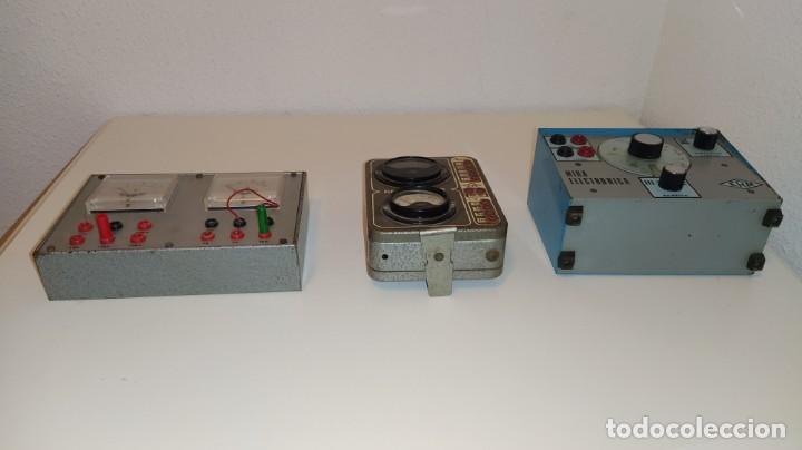 Radios antiguas: LOTE DE APARATOS DE COMPROBACION DEL CURSO DE RADIO DE MAYMO. - Foto 3 - 201342721
