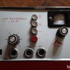 Radios antiguas: MIRA TRANSISTORIZADA PROMAX.. Lote 202251102