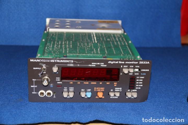 MARCONI 2833 A - PARA DESGUACE Y REURTILIZACION DE COMPONENTES (Radios - Aparatos de Reparación y Comprobación de Radios)