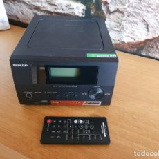 Radios antiguas: SHARP - REPRODUCTOR CD MP3 USB RADIO - SEMINUEVO - MANDO A DISTANCIA. Lote 203383146