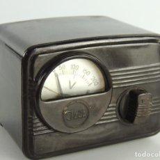 Radios antiguas: TRANSFORMADOR ANTIGUO DE BAQUELITA PARA RADIO O TELEVISOR MARCA JADA. Lote 203995870