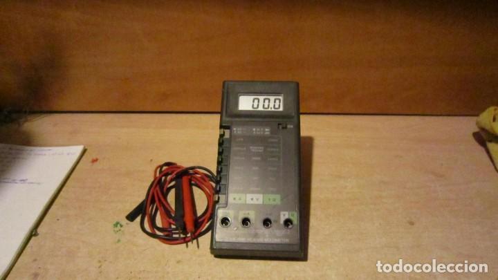 TESTER DIGITAL PRIMERAS SERIES AÑOS 80 (Radios - Aparatos de Reparación y Comprobación de Radios)