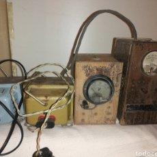 Radios antiguas: LOTE TRANSFORMADORES DE CORRIENTE. Lote 204122473