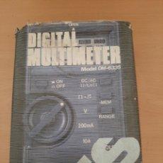 Radios antiguas: MULTIMETRO DIGITAL. GOLDSTAR DM-6335. Lote 204993165