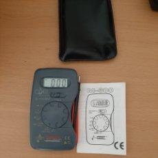 Radios antiguas: MULTIMETRO DIGITAL COATI C-1338N. Lote 204998136