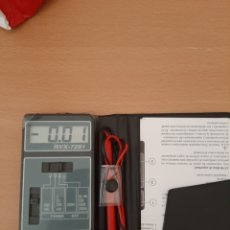 Radios antiguas: MULTIMETRO DIGITAL RVX-7291. Lote 205000992