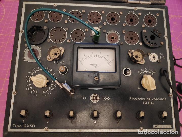 COMPROBADOR DE VÁLVULAS IREG GX-50 - NO PROBADO PERO EL TRANSFORMADOR ESTÁ COMPROBADO (Radios - Aparatos de Reparación y Comprobación de Radios)