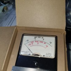 Radios antiguas: MEDIDOR DB MASTER INSTRUMENTS AUSTRALIANO MUY RARO. Lote 206247507