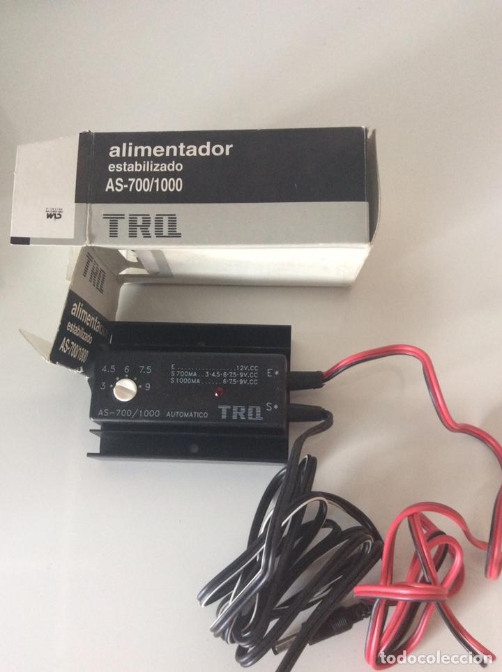 TRANSFORMADOR TRQ AS-700/1000 ALIMENTADOR ESTABILIZADO ENTRADA 12V C.C. SALIDAS REGULABLES (Radios - Aparatos de Reparación y Comprobación de Radios)