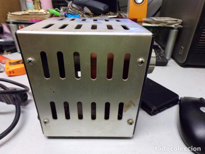 Radios antiguas: antiguo transformador luz intelecsa para todos los voltages de 220 lo pasa a desde 0 a 250 radio - Foto 7 - 210176231