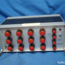 Radios antiguas: ECUALIZADOR PARAMÉTRICO - LABORATORIO ELECTRÓNICO. Lote 210287935