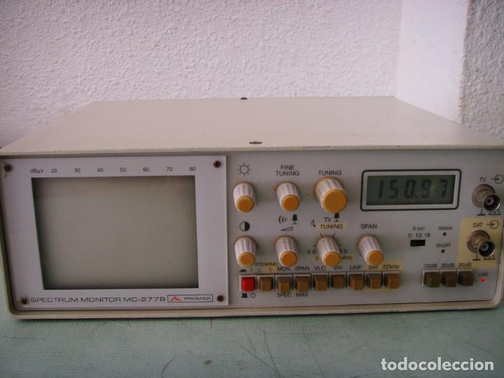 GENERADOR DE SEÑAL PROMAX MC-277B (Radios - Aparatos de Reparación y Comprobación de Radios)