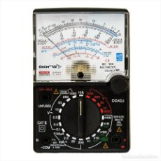 Rádios antigos: POLIMETRO ANALOGICO MULTIMETRO NORU NR-909-164 ¡NUEVO!. Lote 221527153