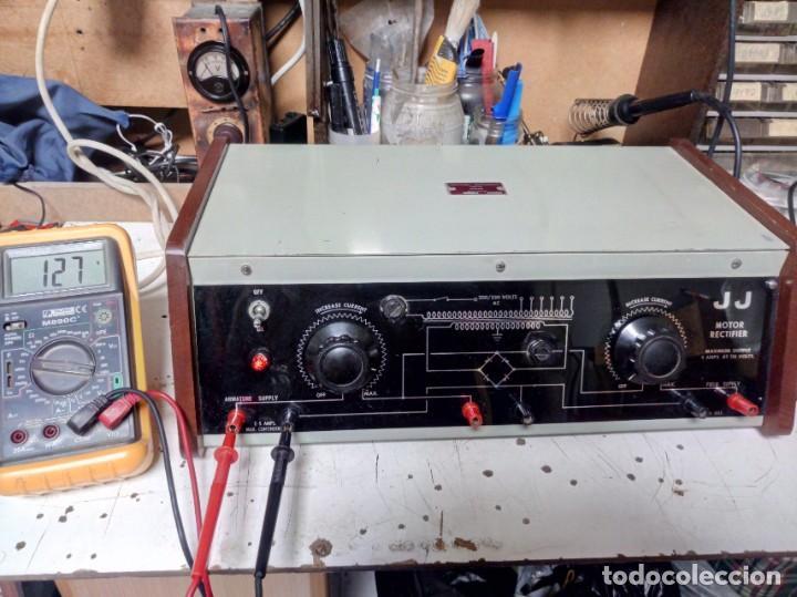 ANTIGUO RECTIFICADOR JJ PARA MOTORES DC (Radios - Aparatos de Reparación y Comprobación de Radios)