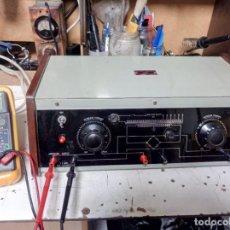 Radios antiguas: ANTIGUO RECTIFICADOR JJ PARA MOTORES DC. Lote 210785724