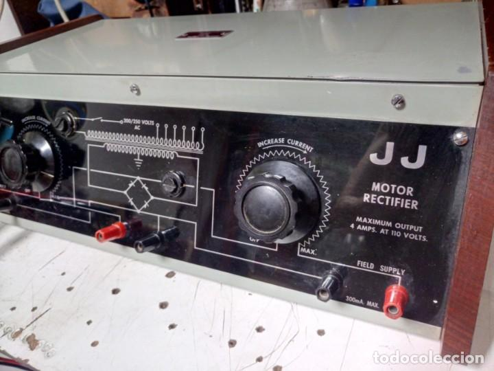 Radios antiguas: Antiguo Rectificador JJ para motores DC - Foto 2 - 210785724
