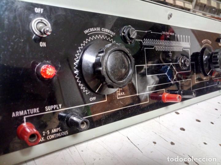 Radios antiguas: Antiguo Rectificador JJ para motores DC - Foto 3 - 210785724