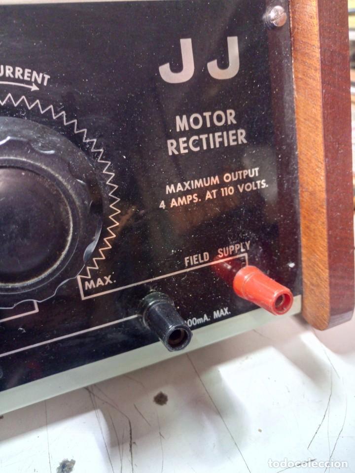 Radios antiguas: Antiguo Rectificador JJ para motores DC - Foto 4 - 210785724