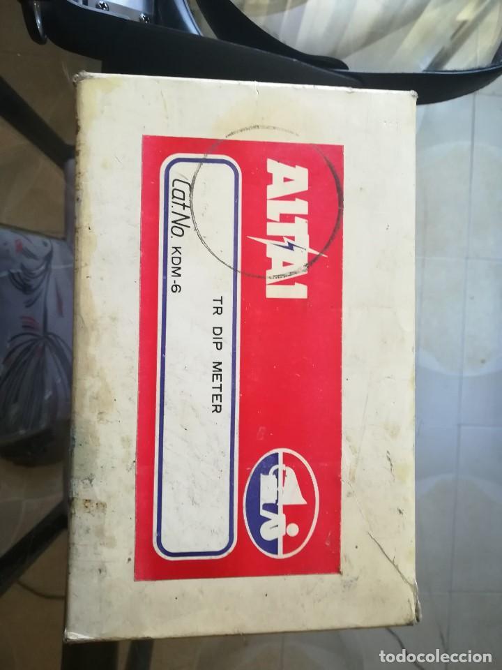 TR DIP METER ALTAI. MOD KDM-6 (Radios - Aparatos de Reparación y Comprobación de Radios)