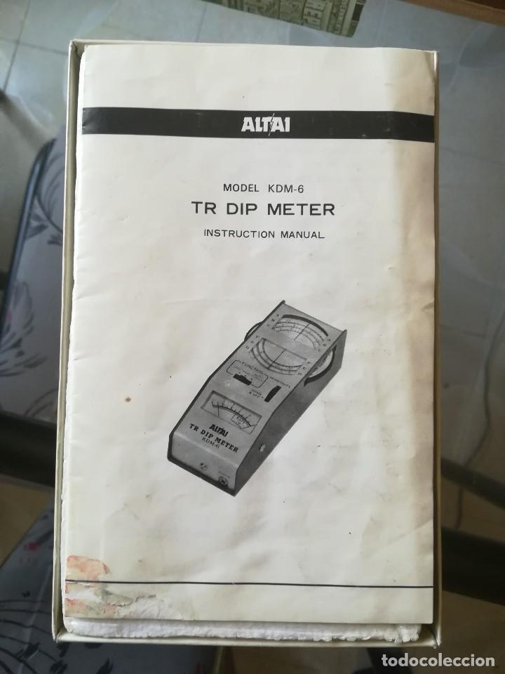 Radios antiguas: TR DIP METER ALTAI. MOD KDM-6 - Foto 2 - 211265905