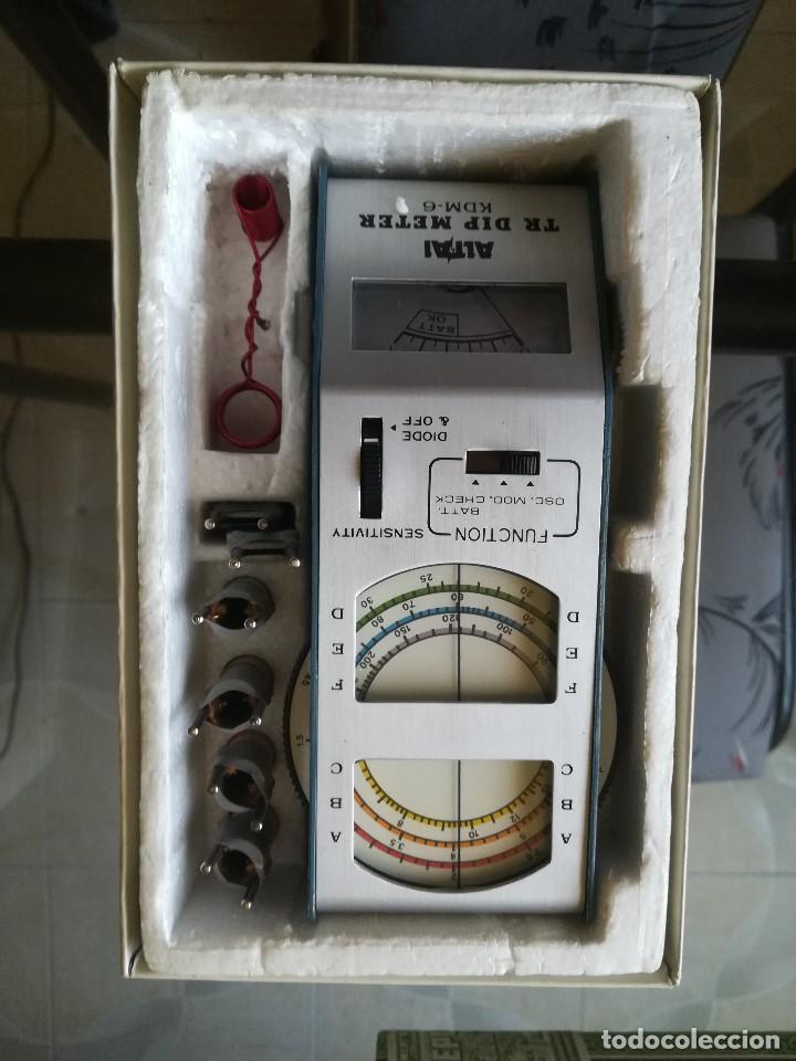 Radios antiguas: TR DIP METER ALTAI. MOD KDM-6 - Foto 5 - 211265905