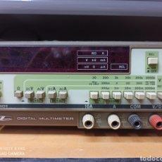Radios antiguas: MULTIMETRO IWATSU. Lote 261137745