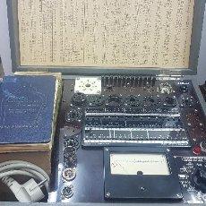 Radios Anciennes: COMPROBADOR DE VÁLVULAS ALEMAN - MARCA: FUNKE - MOD : W19 - PERFECTO FUNIONAMIENTO - BIEN CONSERVADO. Lote 212887732