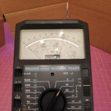 Radios antiguas: MULTÍMETRO POLÍMETRO VOLTIMETRO AMPERÍMETRO OHMETRO PHILIPS PM2505 - ELECTRÓNICO DE ALTA IMPEDANCIA. Lote 214551573