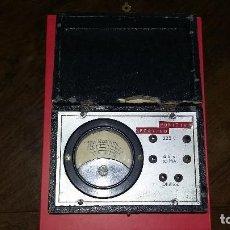 Radios antiguas: ANTIGUO MEDIDOR.. Lote 215708918
