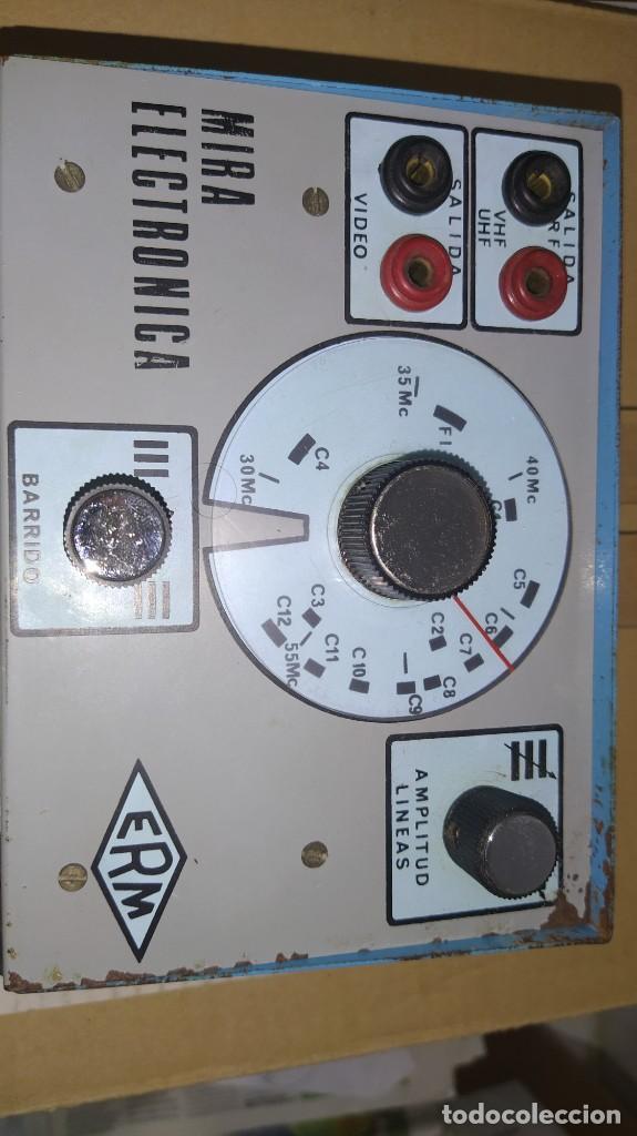 Radios antiguas: LOTE DE APARATOS DE COMPROBACION DEL CURSO DE RADIO DE MAYMO. - Foto 11 - 201342721