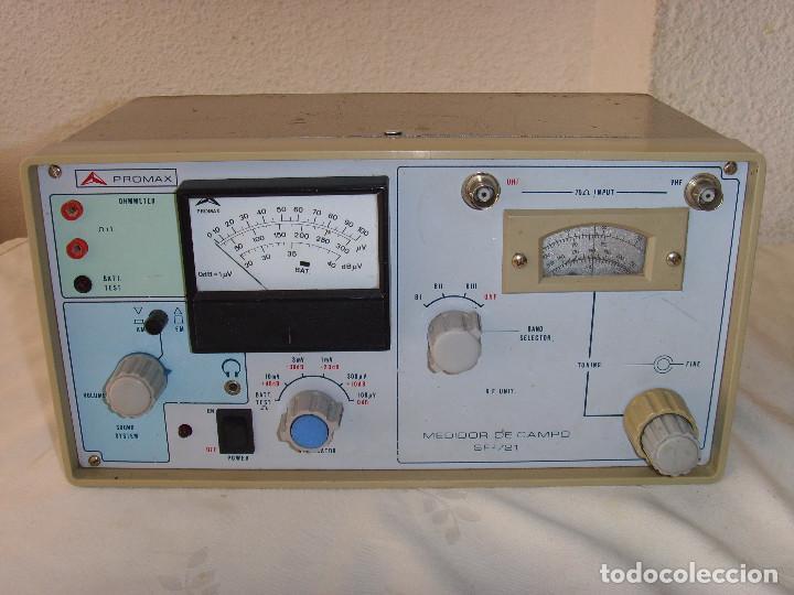 MEDIDOR DE CAMPO PROMAX SF-721 (Radios - Aparatos de Reparación y Comprobación de Radios)