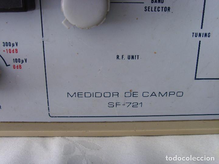 Radios antiguas: MEDIDOR DE CAMPO PROMAX SF-721 - Foto 13 - 218436756