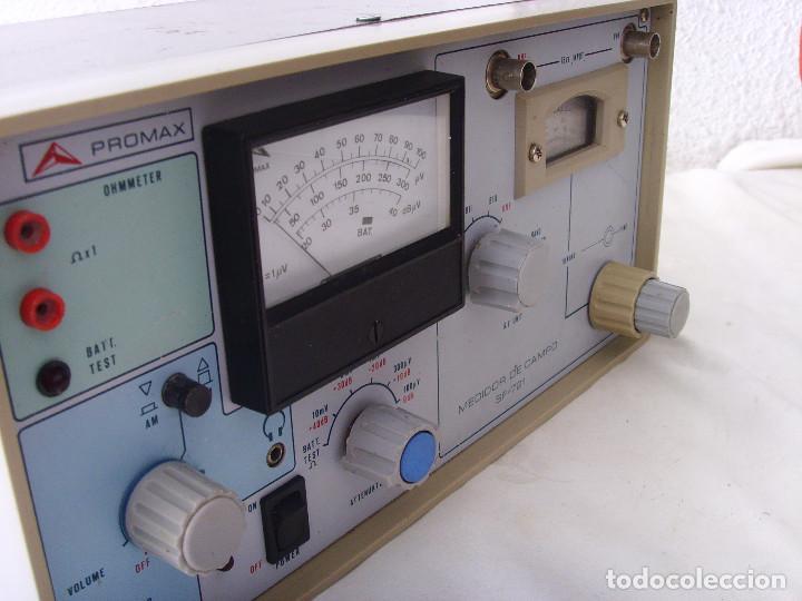 Radios antiguas: MEDIDOR DE CAMPO PROMAX SF-721 - Foto 16 - 218436756