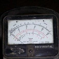 Radios antiguas: POLIMETRO ANTIGUO. PARA COMPROBACION RADIOS A VALVULAS.. Lote 218571618