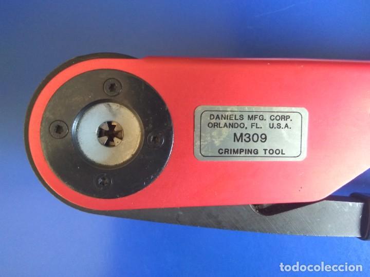 CRIMPADORA M309 DMC CRIM TOOL CRIMPER (Radios - Aparatos de Reparación y Comprobación de Radios)