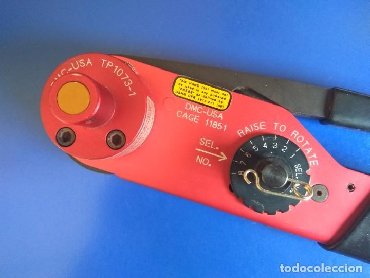Radios antiguas: Crimpadora M309 DMC Crim Tool Crimper - Foto 2 - 219275090