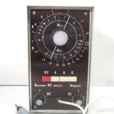 Radios antiguas: OSCILADOR GENERADOR DE SEÑALES DE RADIO RF/AF AFHA GRF-21 - RAPARACION RADIOS GRF21. Lote 219460816