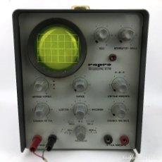 Radios antiguas: OSCILOSCOPIO MARCA REPRO 01 69 220V FRECUENCIA TECNOLOGIA INSTRUMENTO ELECTRONICO SEÑALES ELECTRICAS. Lote 220625393