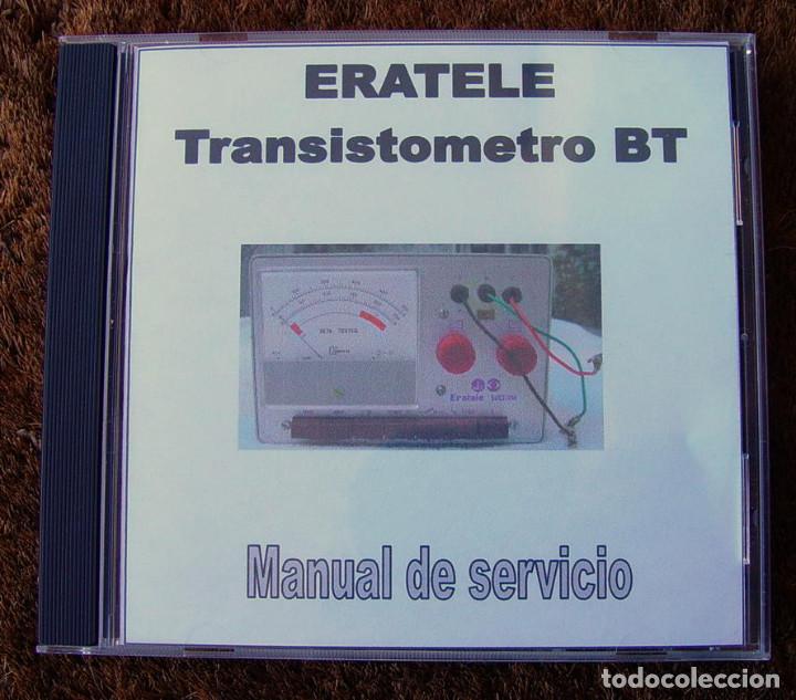 Radios antiguas: Transistometro, Medidor de transistores Beta Tester de Eratele....sanna - Foto 2 - 226118435
