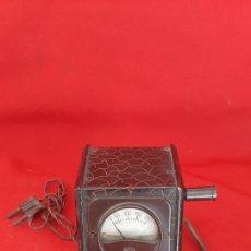 Rádios antigos: ANTIGUO TRANSFORMADOR DE RADIO DE BAKELITA Y PIEL. Lote 229851755