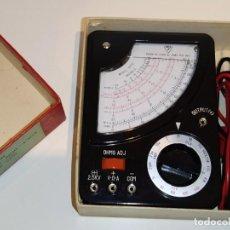 Radios antiguas: EXTRAORDINARIO MULTIMETRO-TESTER-POLIMETRO DE BAKELITA M-200H NUEVO-¡¡¡¡FUNCIONA!!!!.AFHA.. Lote 231128770