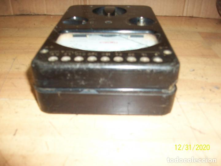 Radios antiguas: ANTIGUO TESTER - METRIX - Foto 4 - 232603090