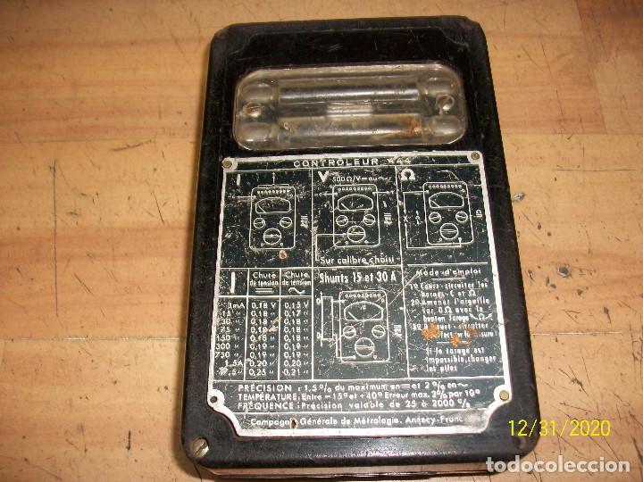 Radios antiguas: ANTIGUO TESTER - METRIX - Foto 6 - 232603090