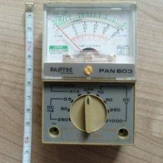 Radios antiguas: ELECTRONICA, ANTIGUO TESTER O VOLTIMETRO PANTEC - NO SE SI FUNCIONA BIEN. Lote 234099445