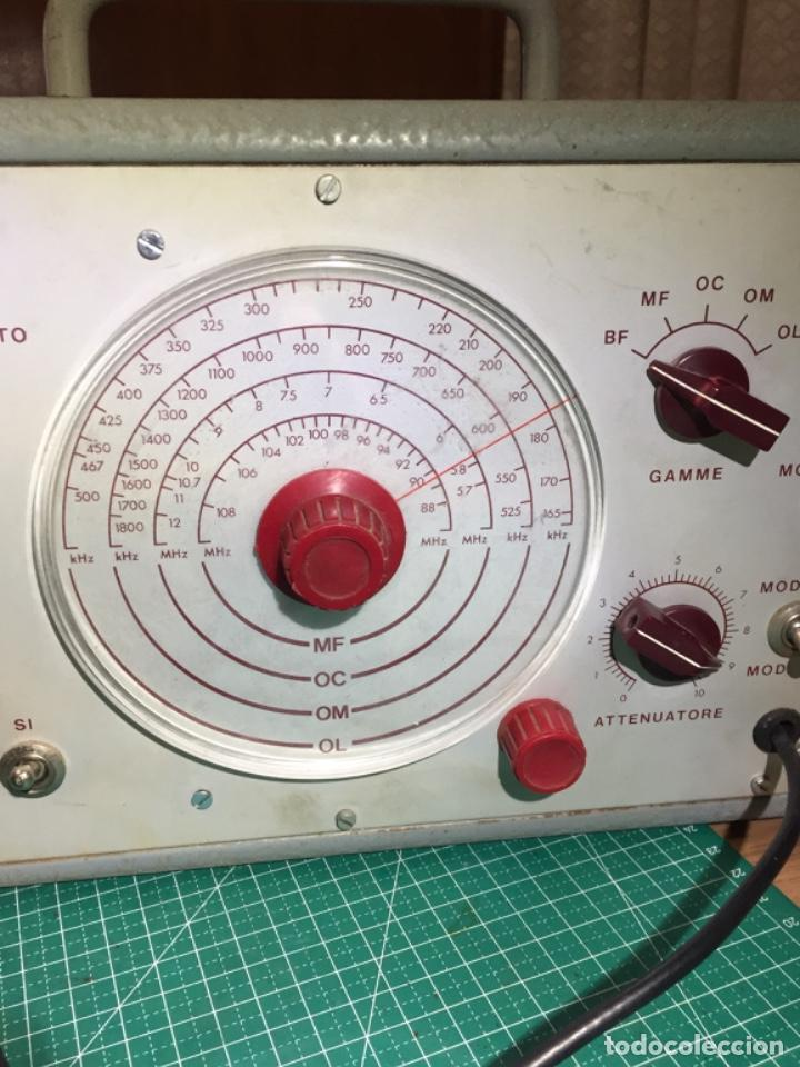 GENERADOR MODULADOR ELECTRA TORINO (Radios - Aparatos de Reparación y Comprobación de Radios)