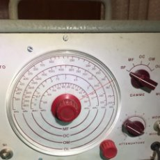 Radios antiguas: GENERADOR MODULADOR ELECTRA TORINO. Lote 234760285